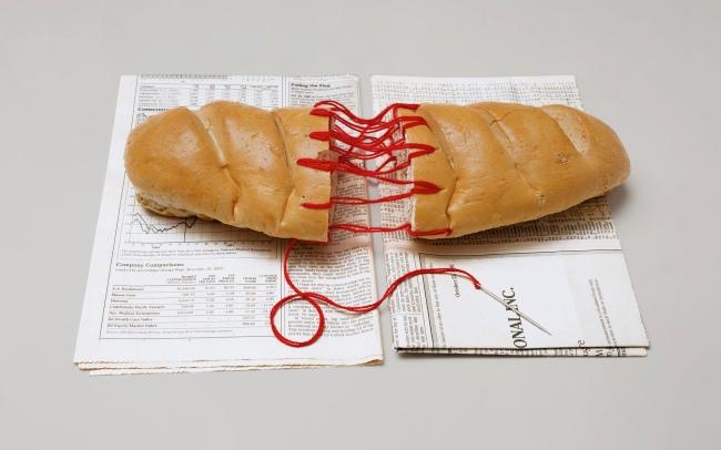 David Wojnarowicz (1954-1992) 'Bread Sculpture' 1988-89