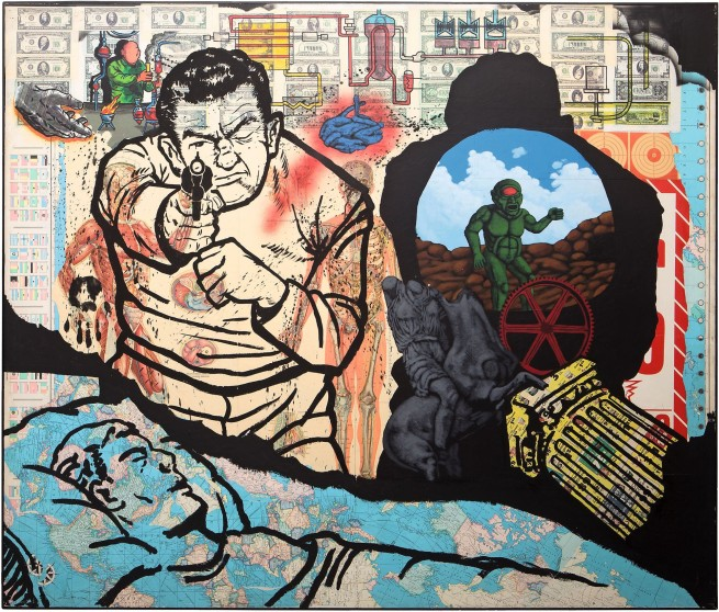 David Wojnarowicz (1954-1992) 'History Keeps Me Awake at Night (For Rilo Chmielorz)' 1986