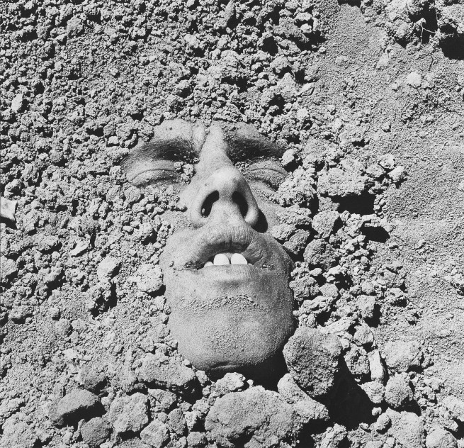 David Wojnarowicz (1954-1992) 'Untitled (Face in Dirt)' 1991 (printed 1993)