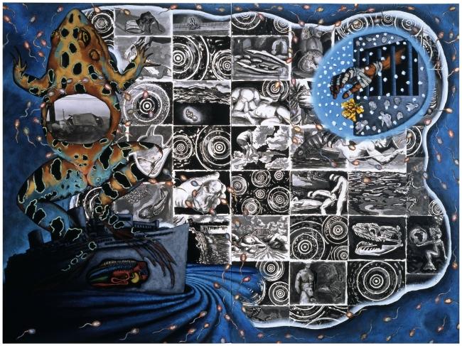 David Wojnarowicz (1954-1992) 'Water' 1987