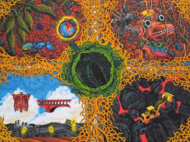 David Wojnarowicz (1954-1992) 'Earth' 1987