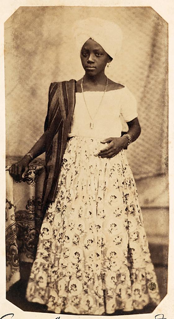 Hermann Kummler (compiler) (1863-1949) '[Portrait of a young Brazilian woman]' 1861-1862