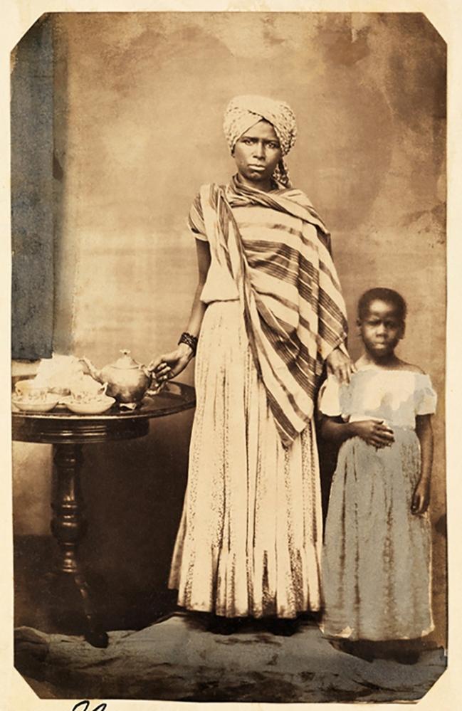 Hermann Kummler (compiler) (1863-1949) '[Portrait of Brazilian woman servant and child]' 1861-1862