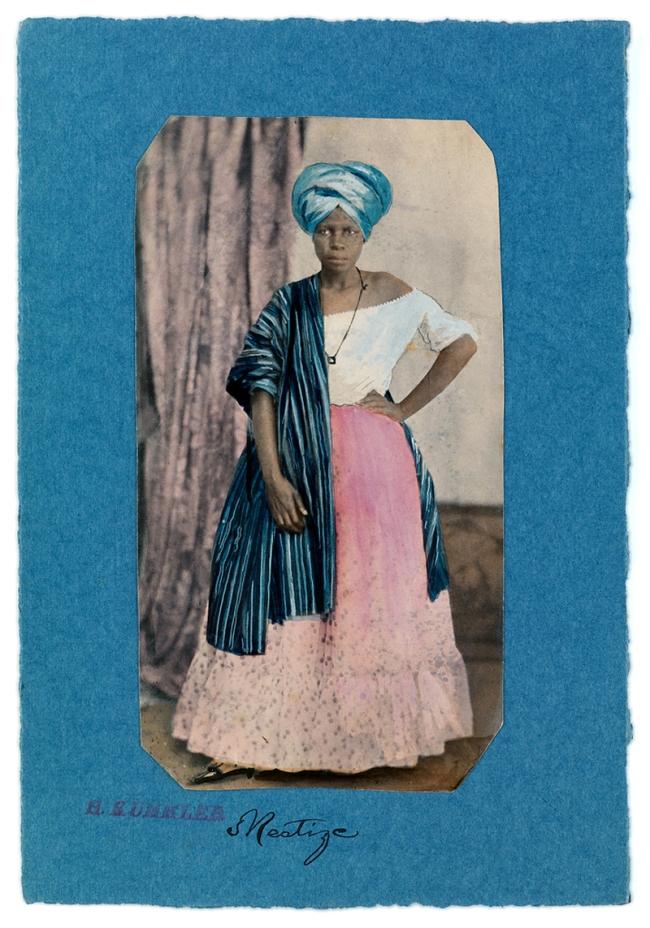 Hermann Kummler (compiler) (1863-1949) 'Mestize [Portrait of a Brazilian woman]' 1861-1862