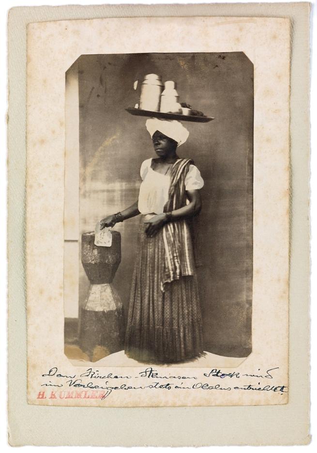 Hermann Kummler (compiler) (1863-1949) '[Portrait of Indigenous Brazilian tradeswoman]' 1861-1862