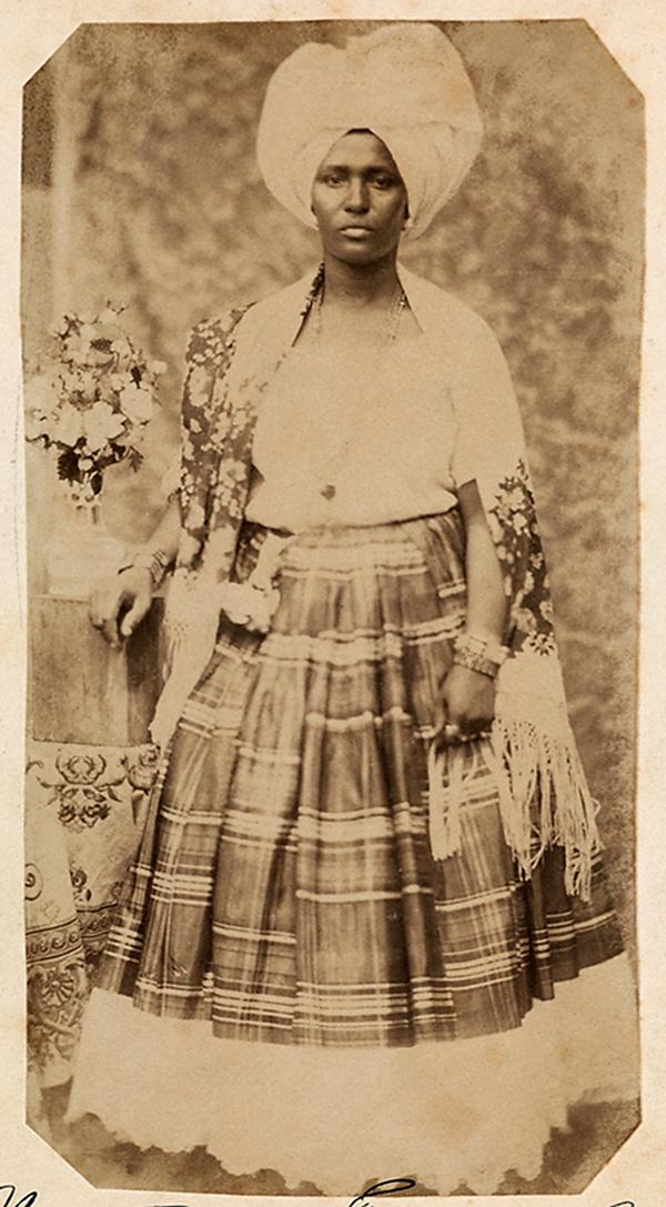 Hermann Kummler (compiler) (1863-1949) '[Portrait of a Brazilian woman]' 1861-1862