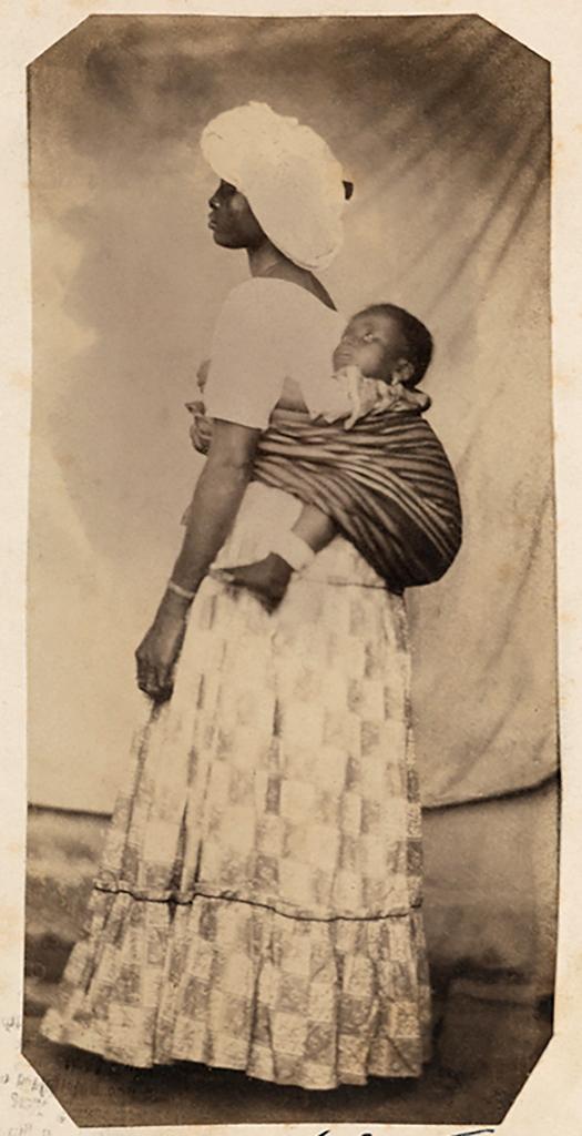 Hermann Kummler (compiler) (1863-1949) '[Portrait of a Brazilian mother and child]' 1861-1862