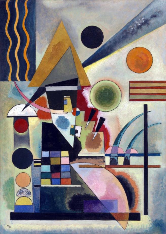 Wassily Kandinsky (1866-1944) 'Swinging' 1925