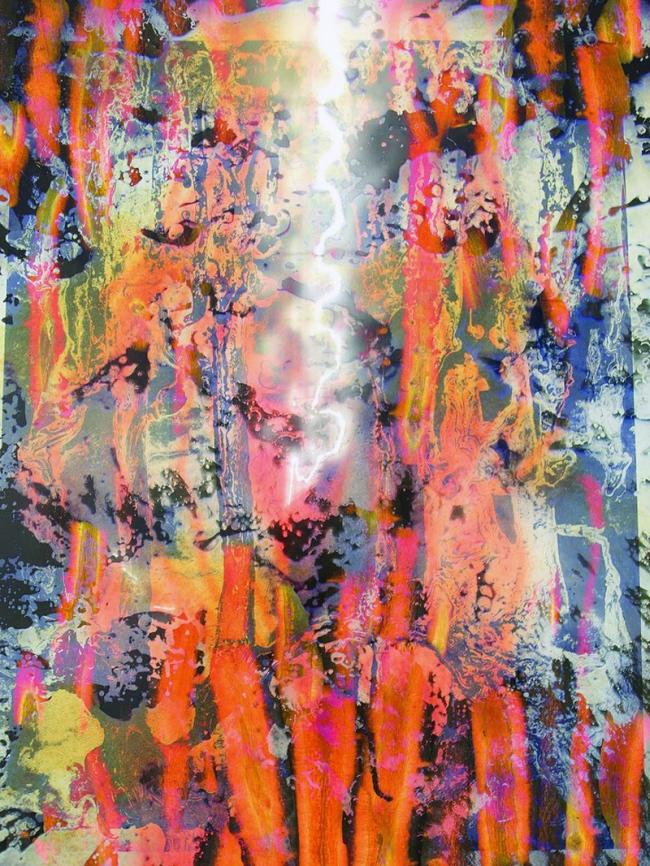 Maya Rochat (b.1985) 'A Rock is a River (META CARROTS)' 2017