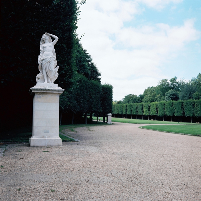Marcus Bunyan. 'Parc de Sceaux' from the series 'Paris in film' 2018