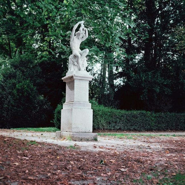Marcus Bunyan. 'Parc de Sceaux' from the series 'Paris in film' 2018