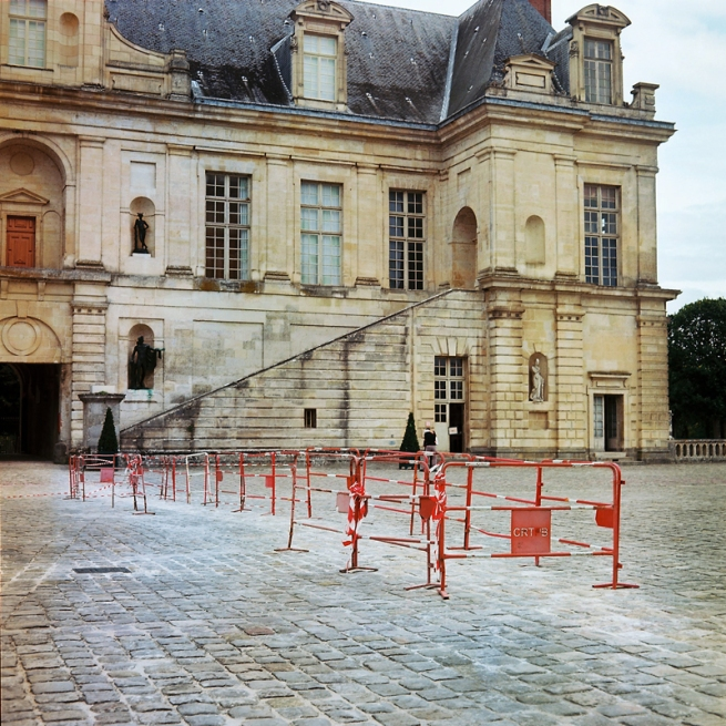 Marcus Bunyan. 'Fontainebleau' from the series 'Paris in film' 2018