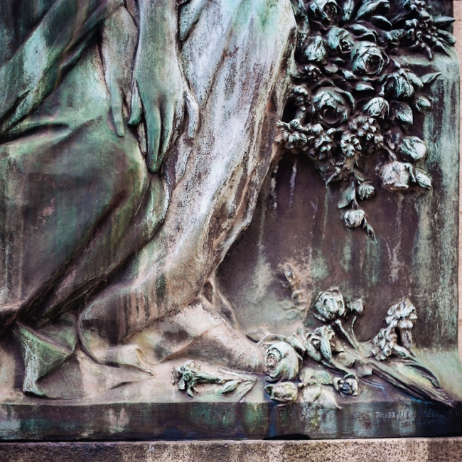 Marcus Bunyan. 'Cimetière du Père Lachaise' from the series 'Paris in film' 2018