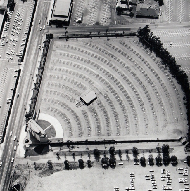 Edward Ruscha (b.1937) 'Gilmore Drive-In Theater - 6201 W. Third St.' 1967, printed 2013