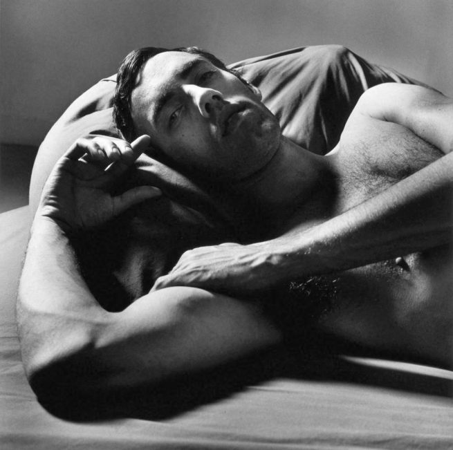 Peter Hujar (1934-1992) 'David Wojnarowicz Reclining (II)' 1981