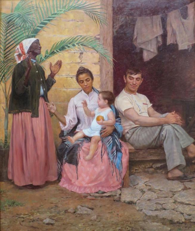 Modesto Brocos(1853-1936) 'A Redenção de Cam (Ham's Redemption)' 1895