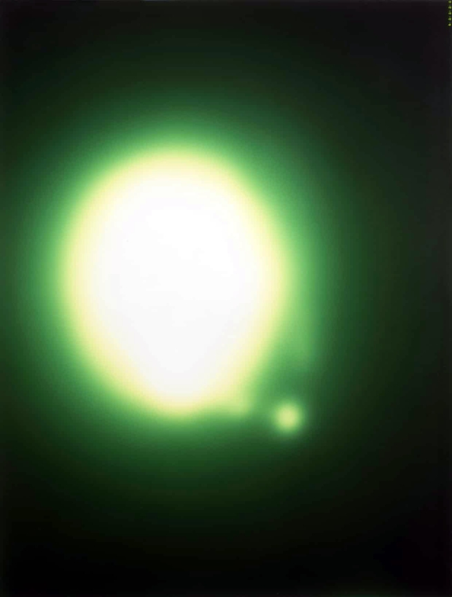Sigmar Polke. 'Untitled (Uranium Green)' 1992