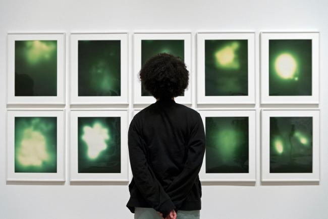 Shape of Light, Exhibition Press Image, Tate Modern, 2018