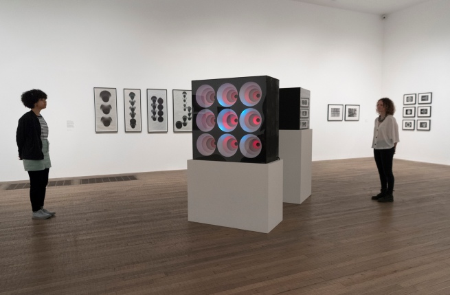 Shape of Light, Exhibition Press Image, Tate Modern, 2018