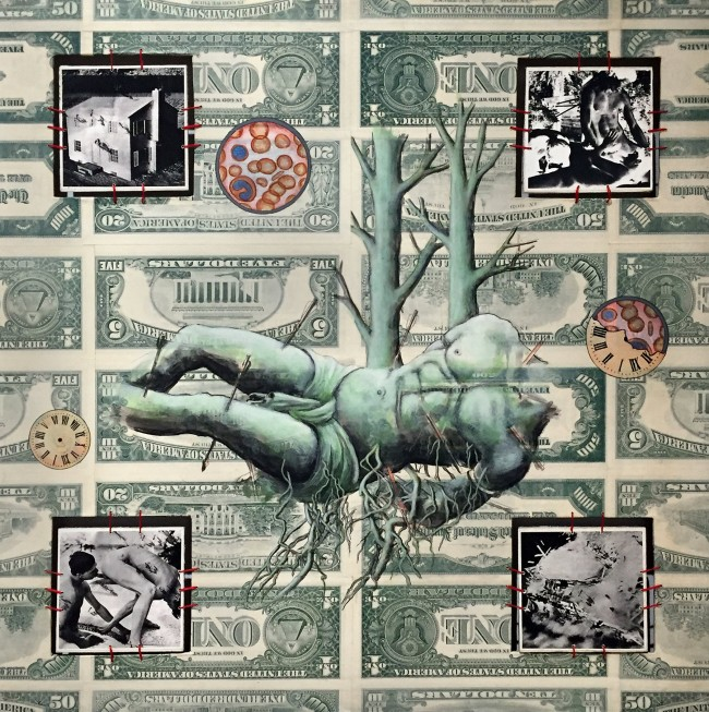 David Wojnarowicz (1954-1992) 'Bad Moon Rising' 1989