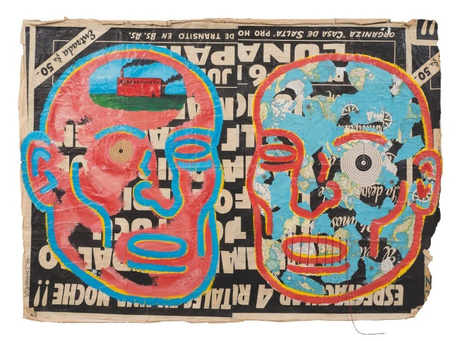 Wojnarowicz 'Untitled (Two Heads)' 1984