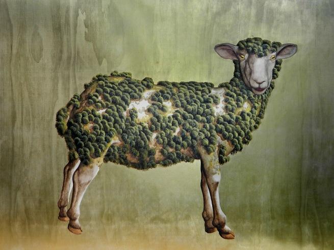 Dale Cox (b. 1969) 'Usurper Ruminant' 2016