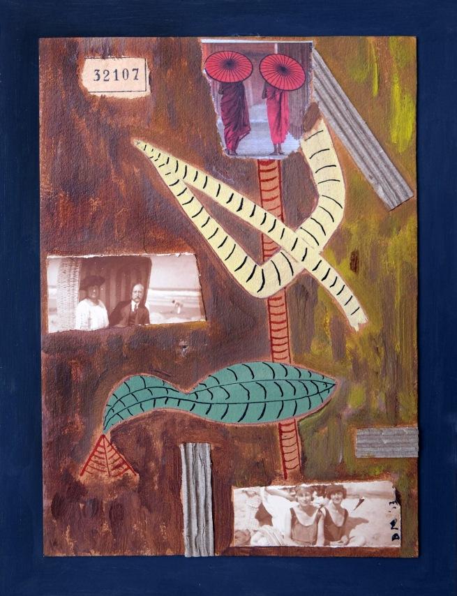 Drager Meurtant(b. 1951) 'Green bird day' 2017