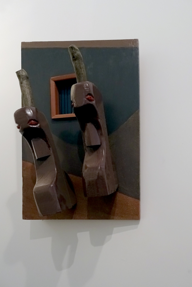 Drager Meurtant(b. 1951) 'Twosome' Nd (installation view)