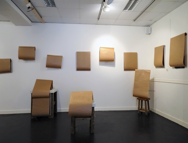 Before the opening of the exhibition 'Now, the new form of the past' at Kunstwerk! Liemers Museum, Netherlands