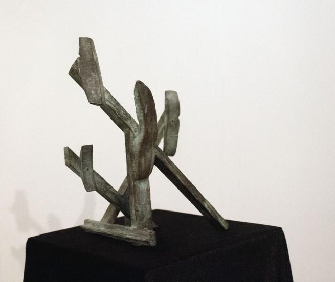 Drager Meurtant(b. 1951) 'Progress (halted)' 2016 (installation view)