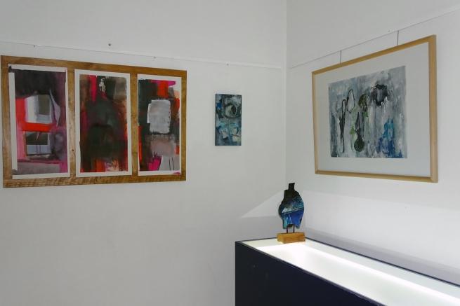 Installation view of the exhibition 'Senses' at Kunstwerk! Liemers Museum, Netherlands
