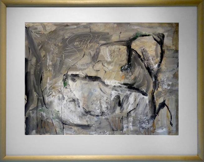 Jeanine Keuchenius (b. 1953, Indonesia) 'Pink and grey' 2012