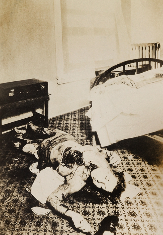Weegee (Arthur Fellig) (1899-1968) 'Untitled [Crime scene]' c. 1930