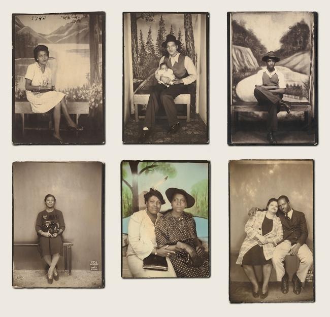 Unknown American makers and Daisy Studio (American, active 1940s) 'Studio Portraits' 1940s-50s