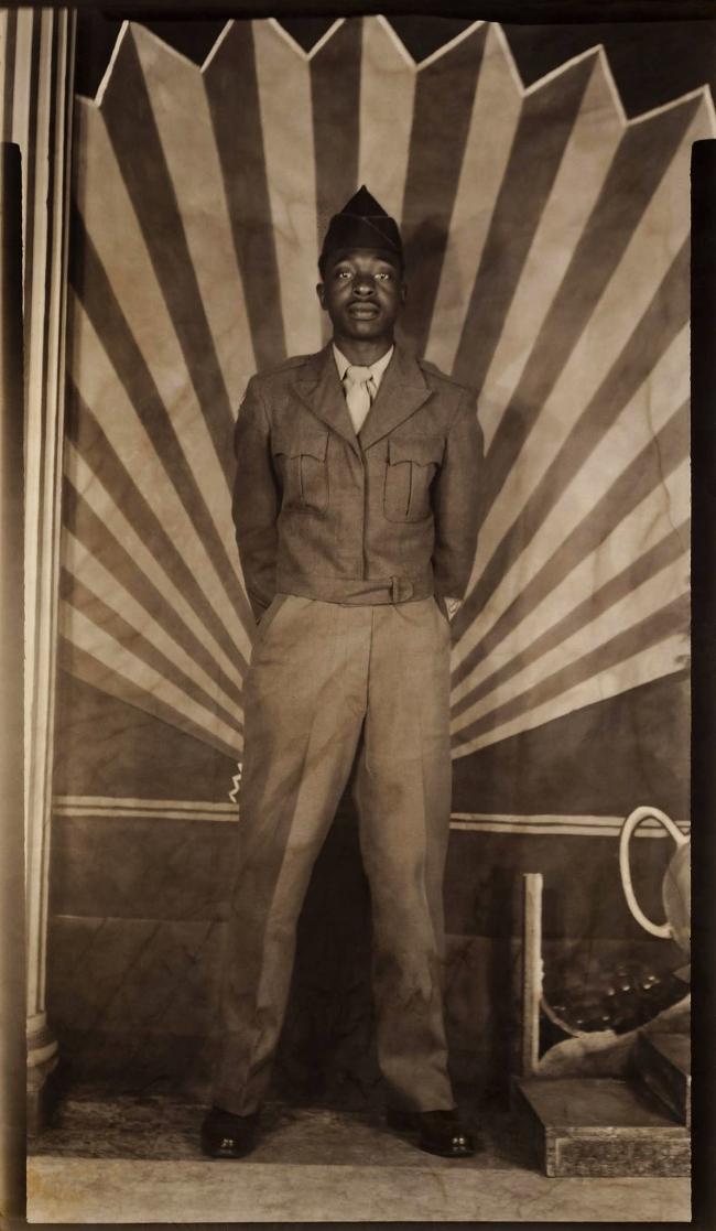 Unknown American maker. 'Studio Portrait' 1940s-50s