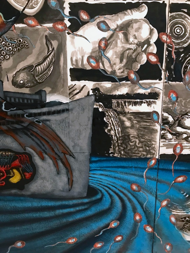 David Wojnarowicz (1954-1992) 'Water' 1987 (detail)