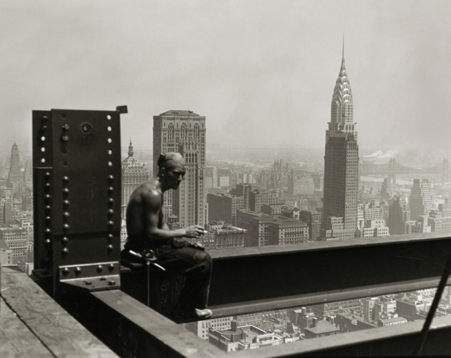 Lewis Hine (1874-1940) 'Empire State Building' 1930-31