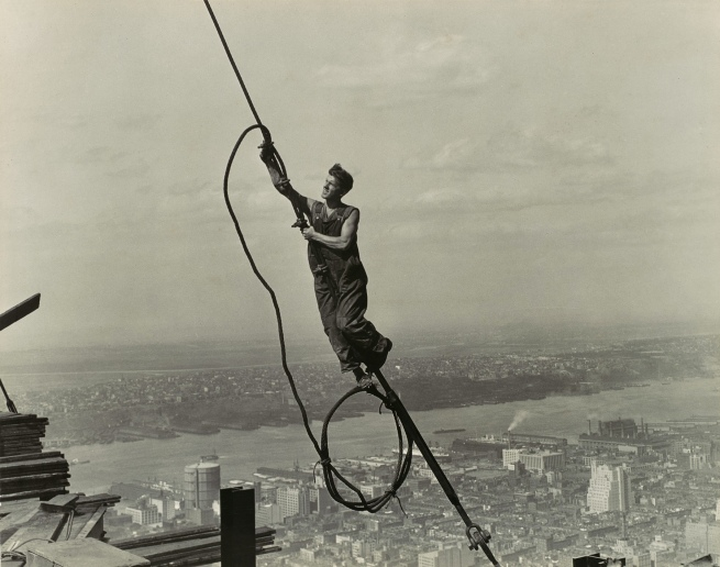 Lewis Hine (1874-1940) 'Icarus, Empire State Building' 1930-31