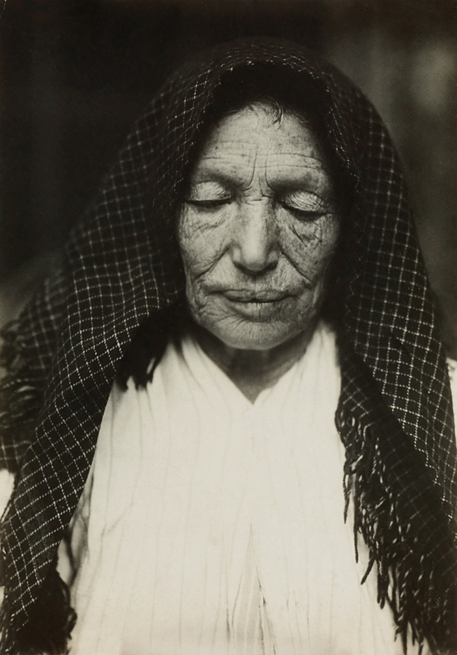 Lewis Hine (1874-1940) 'Hull house beneficiary' 1910