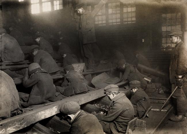 Lewis Hine (1874-1940) 'Pennsylvania coal breakers' 1911