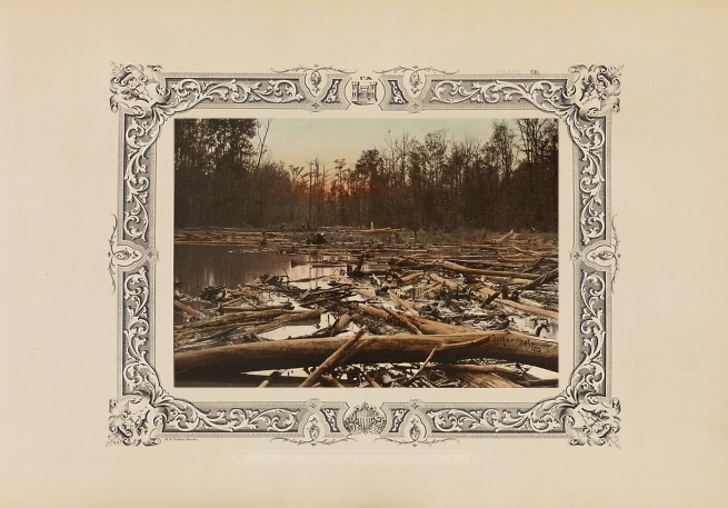 Robert B. Talfor. Plate CII of the photographic album 'Photographic Views of Red River Raft' 1873
