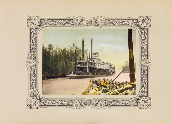Robert B. Talfor. Plate CVII of the photographic album 'Photographic Views of Red River Raft' 1873