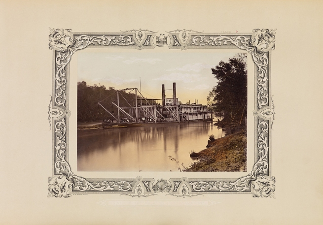 Robert B. Talfor. Plate D of the photographic album 'Photographic Views of Red River Raft' 1873