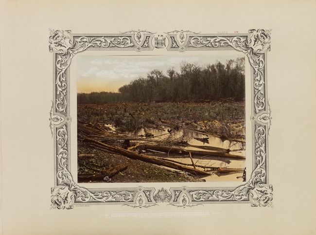Robert B. Talfor. Plate LIV of the photographic album 'Photographic Views of Red River Raft' 1873
