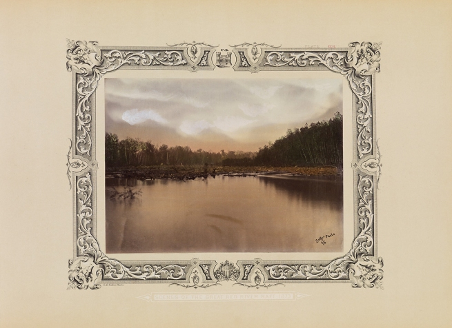 Robert B. Talfor. Plate XCVL of the photographic album 'Photographic Views of Red River Raft' 1873