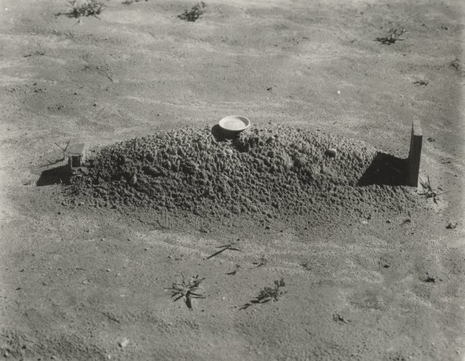 Walker Evans (1903-1975) 'Child's grave, Hale County, Alabama' 1936