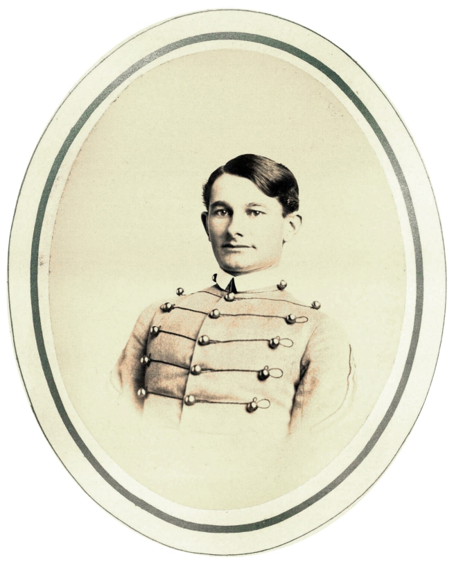 Unknown photographer. 'Lt. Eugene Woodruff' (age approx. 23) c. 1866