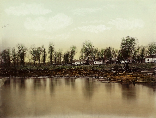 Robert B. Talfor Plate XXII of the photographic album 'Photographic Views of Red River Raft' 1873