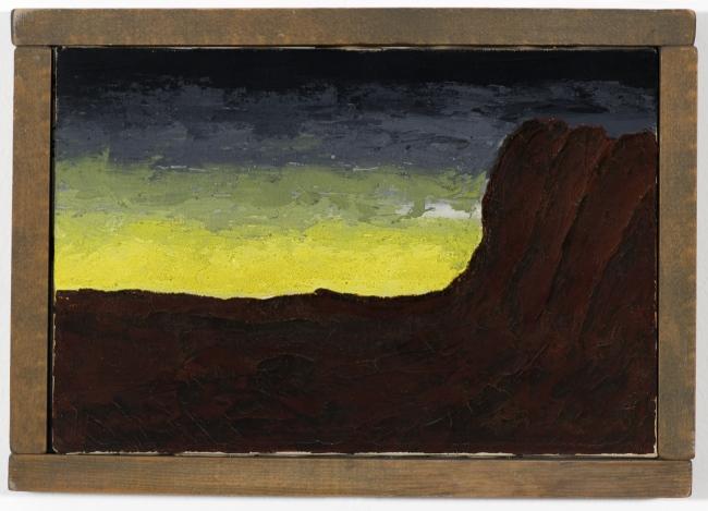Forrest Bess. 'Homage to Ryder' 1951
