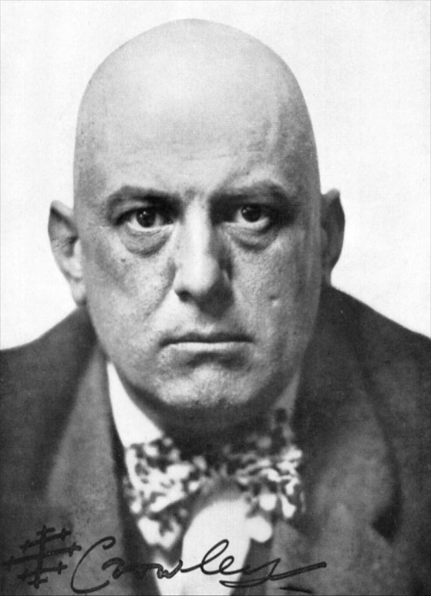Unknown photographer. 'Aleister Crowley as Magus, Liber ABA' 1912